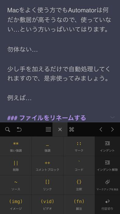 iPhone入力画面1
