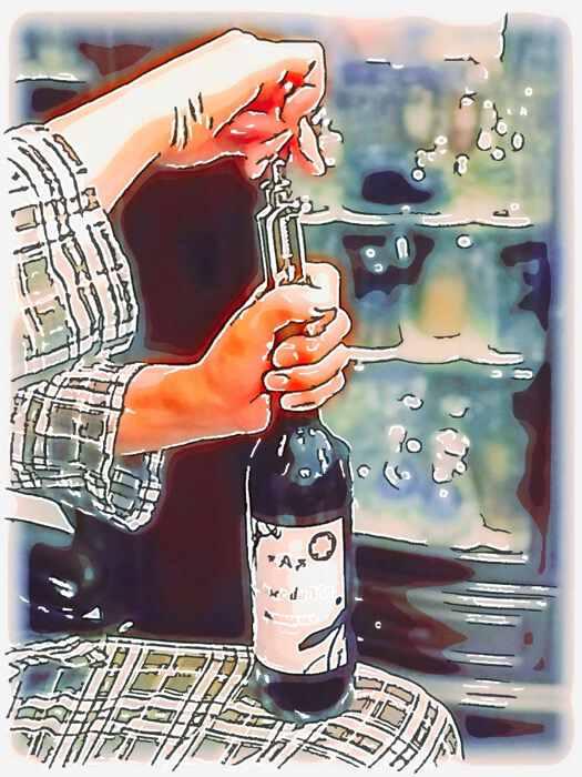 ワインの開封