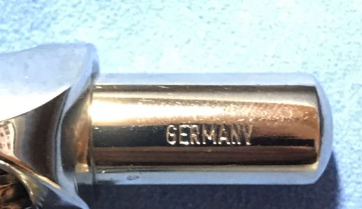 GERMANYの刻印入り